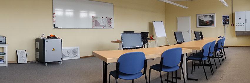 KUKA College Schulungsraum